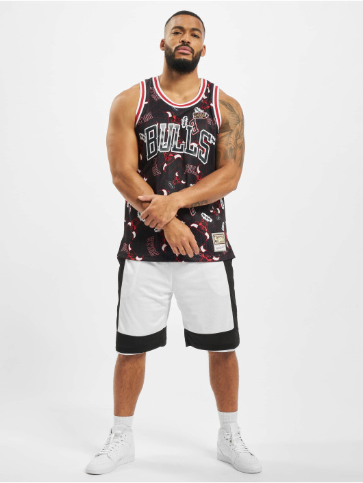 Mitchell & Ness Tank Tops NBA Chicago Bulls Tear Up Pack Swingman schwarz