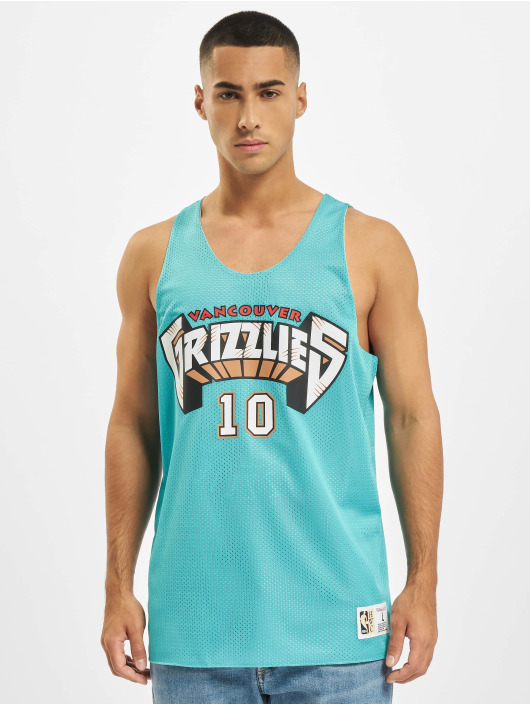 Mitchell & Ness Tank Tops Reversible Vancouver Grizzlies Mike Bibby türkis