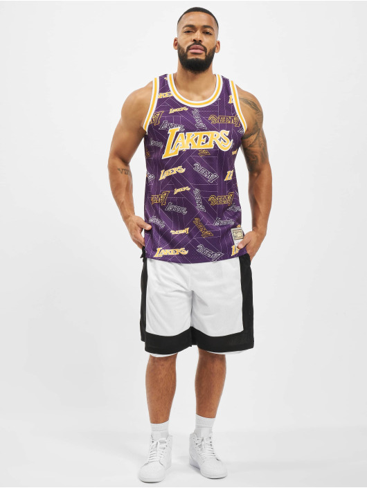 Mitchell & Ness Tank Tops NBA L.A. Lakers Tear Up Pack Swingman violet