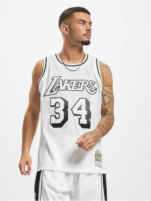 Mitchell & Ness Tank Tops Swingman LA Lakers Shaquille O'Neal weiß