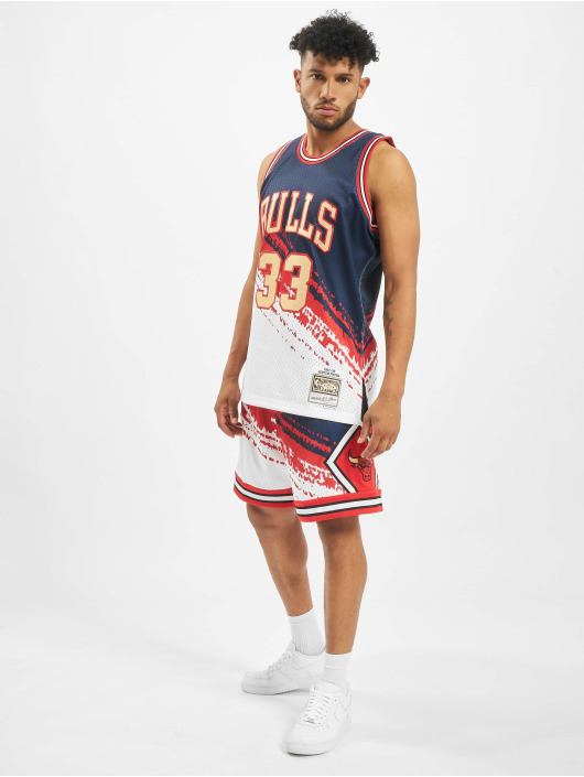 Mitchell & Ness Trikot Independence Swingman Chicago Bulls S. Pippen blau