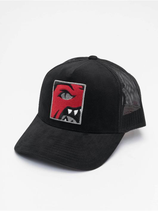 Mitchell & Ness Trucker Cap Icon Pinch Panel Toronto Raptors black