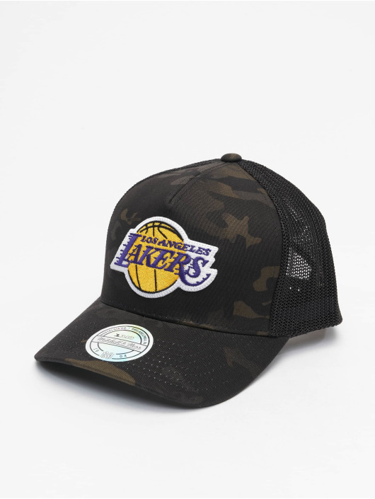 Mitchell & Ness Trucker Cap Multicam La Lakers camouflage