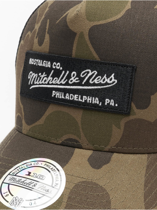 Mitchell & Ness Trucker Cap Own Brand 110 mimetico