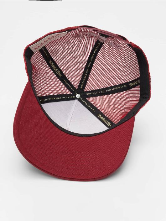Mitchell & Ness Trucker Cap NBA Classic Trucker Box Logo rosso