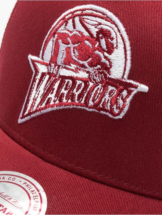 Mitchell & Ness Trucker Cap NBA Golden State Warriors Classic rosso