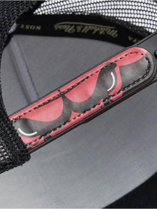 Mitchell & Ness Trucker Cap Icon Pinch Panel Chicago Bulls schwarz