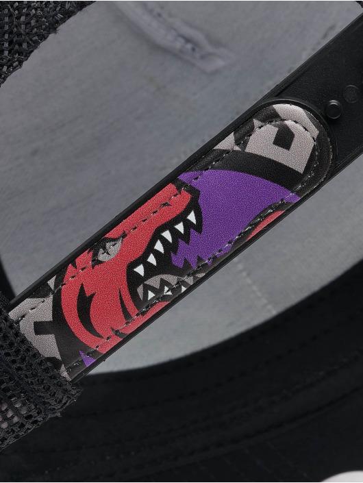 Mitchell & Ness Trucker Cap Icon Pinch Panel Toronto Raptors schwarz