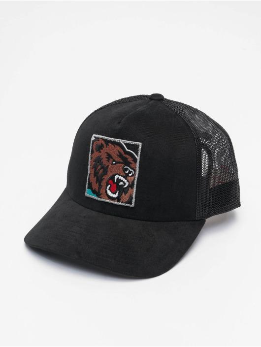 Mitchell & Ness Trucker Cap Icon Pinch Panel Vancouver Grizzlies schwarz
