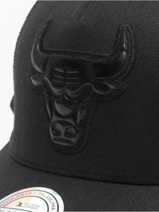 Mitchell & Ness trucker cap NBA Zig Zag Chicago Bulls zwart