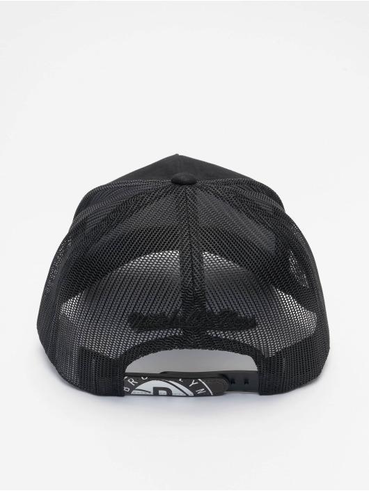 Mitchell & Ness Trucker Caps Icon Pinch Panel Brooklyn Nets czarny