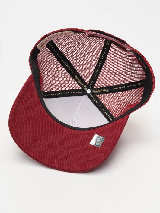 Mitchell & Ness Trucker Caps NBA Chicago Bulls Classic czerwony