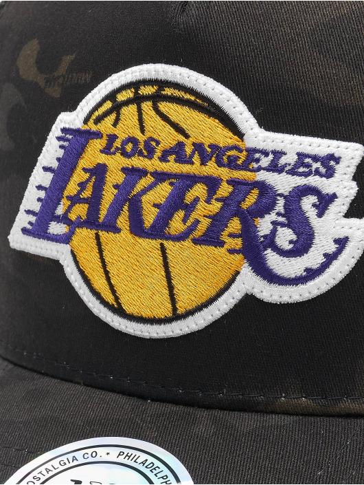 Mitchell & Ness Trucker Caps Multicam La Lakers kamuflasje