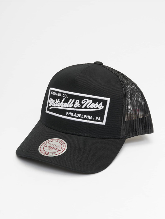 Mitchell & Ness Trucker Caps NBA ClassicTrucker Box Logo svart