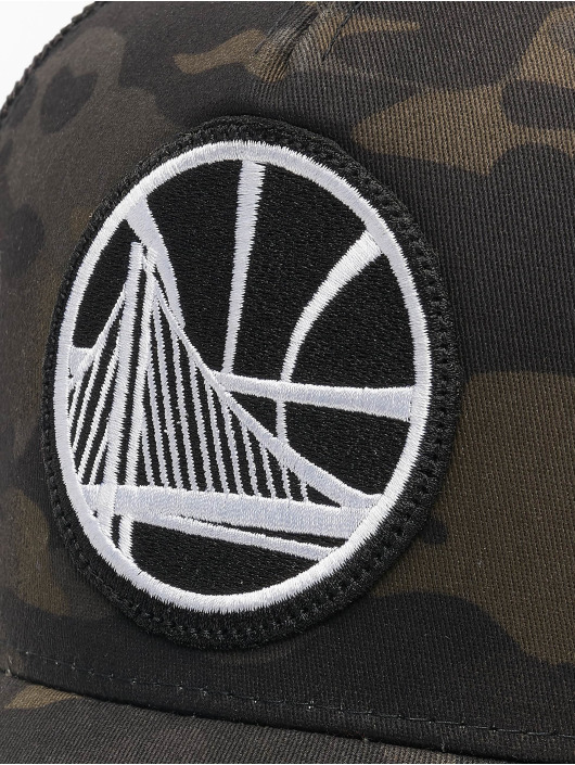 Mitchell & Ness Trucker Multicam Gs Warriors maskáèová