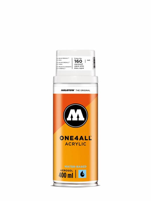 Molotow Краска аэрозольная One4All Acrylic Spray 400 ml белый
