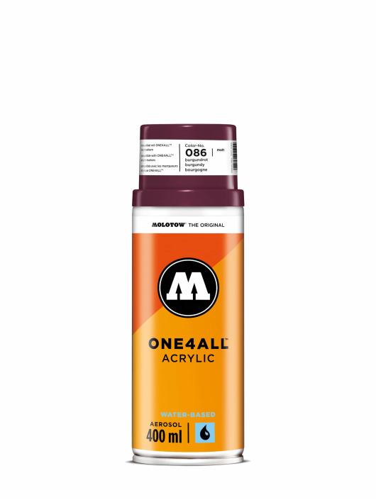 Molotow Краска аэрозольная One4All Acrylic Spray 400 ml красный