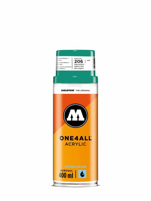 Molotow Краска аэрозольная One4All Acrylic Spray 400 ml синий