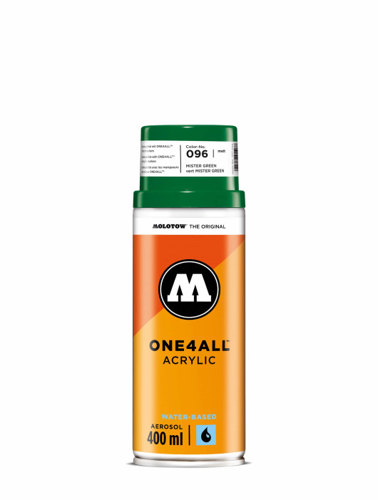 Molotow Bombes One4All Acrylic Spray 400 ml vert