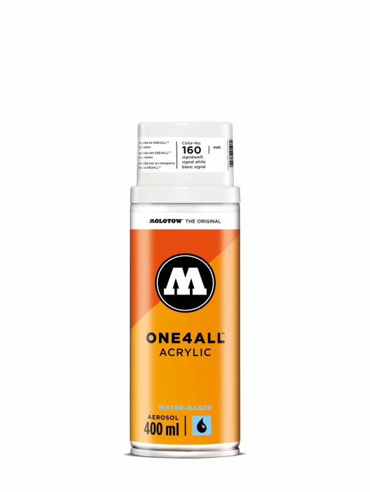 Molotow Bomboletta One4All Acrylic Spray 400 ml bianco