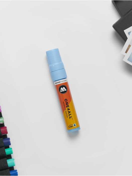 Molotow Marker Marker ONE4ALL 15mm 627HS 202 Creamic Light Pastell blau