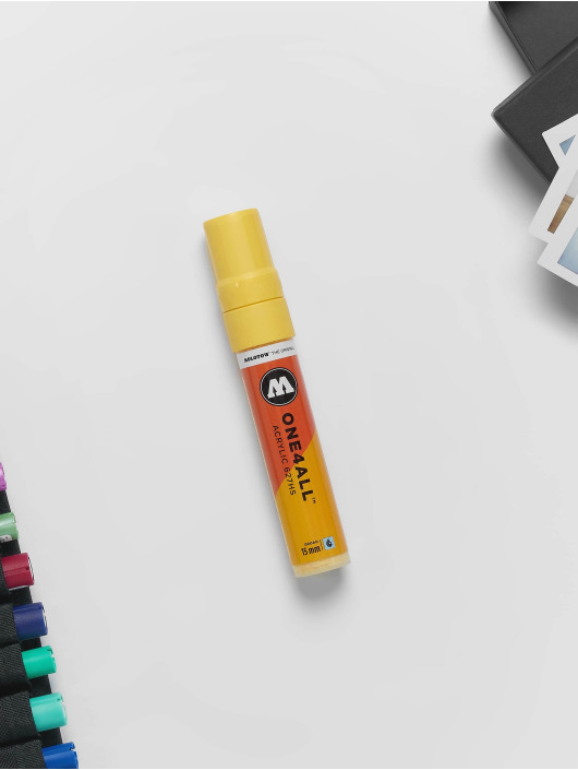Molotow Marker Marker ONE4ALL 15mm 627HS 115 vanille pastell gelb