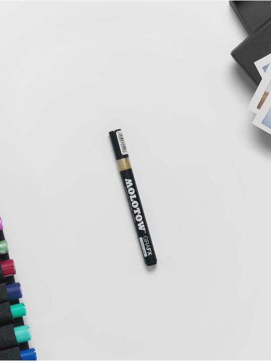 Molotow Marker GRAFX Fine-Liner goldfarben