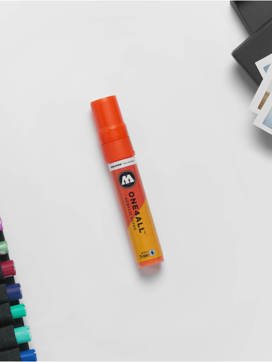 Molotow Marker Marker ONE4ALL 15mm 627HS 085 Dare Orange orange