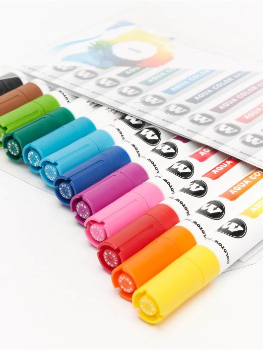 Molotow Marker Aqua Color Brush pestrá