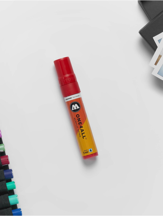 Molotow Marker Marker ONE4ALL 15mm 627HS 013 Traffic Red rot