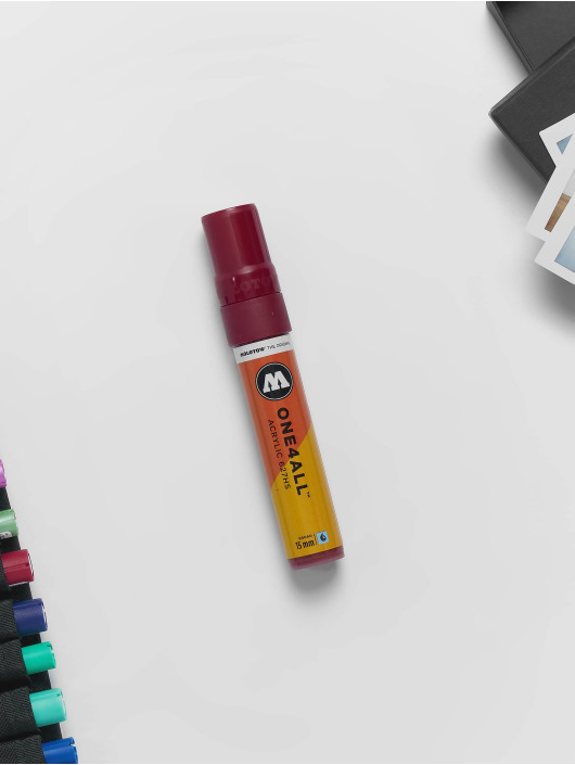 Molotow Marker Marker ONE4ALL 15mm 627HS 086 Burgundy rot