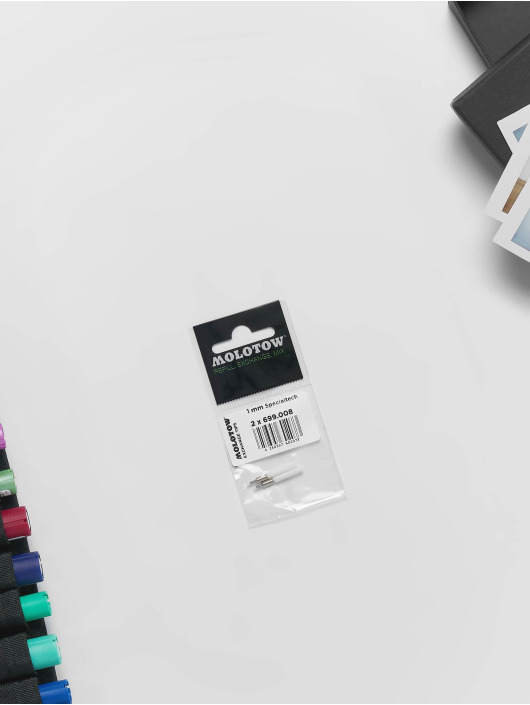 Molotow Marker Marker ONE4ALL Ersatztip specialtech-tip 1mm 2pc weiß