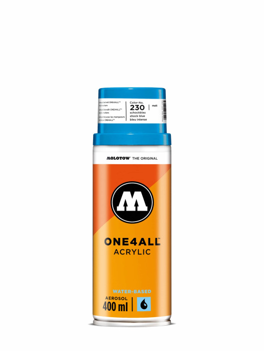 Molotow Spray Cans One4All Acrylic Spray 400 ml blue