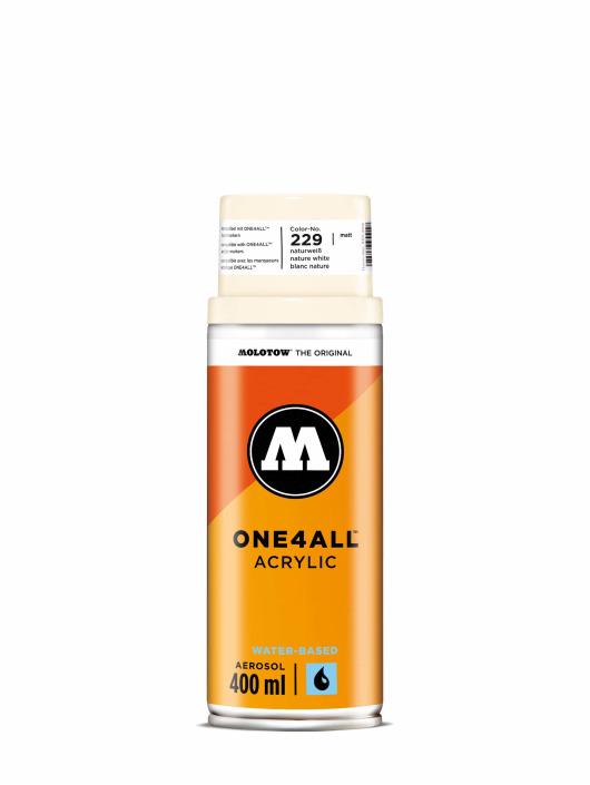 Molotow Spraydosen One4All Acrylic Spray 400 ml biela