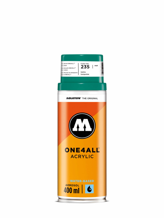 Molotow Spraymaalit One4All Acrylic Spray 400 ml turkoosi