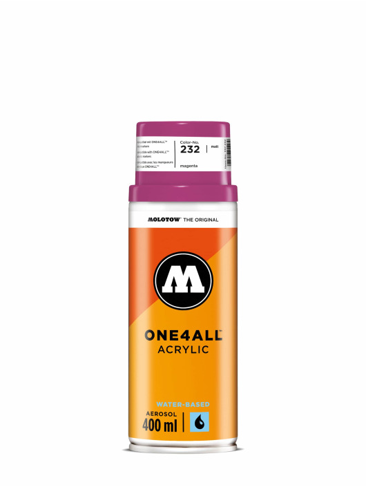 Molotow Spraymaalit One4All Acrylic Spray 400 ml vaaleanpunainen