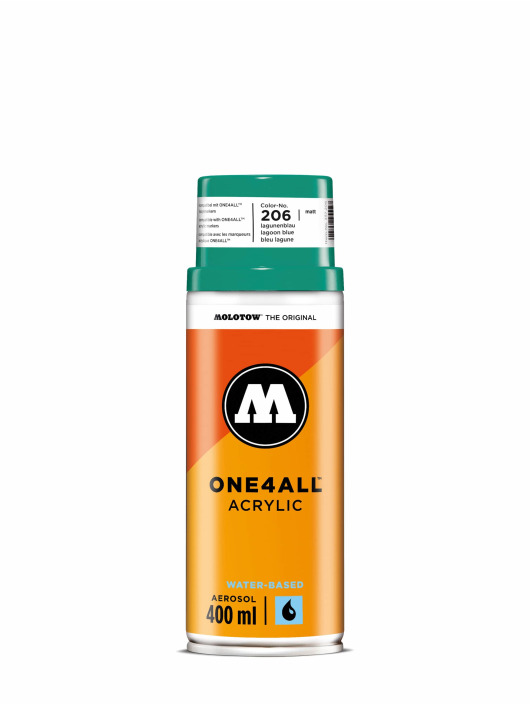 Molotow Spuitbussen One4All Acrylic Spray 400 ml blauw