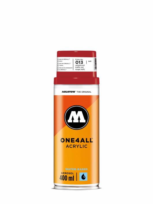 Molotow Spuitbussen One4All Acrylic Spray 400 ml rood