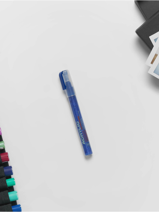 Montana Marker Acrylic Marker EXTRA FINE 0,7mm shock blue dark blau