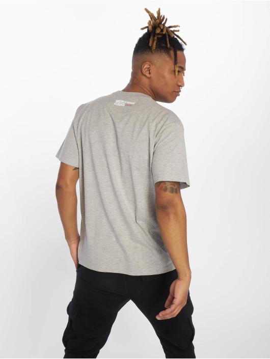 Montana T-Shirt Clothing Typo  Logo grau