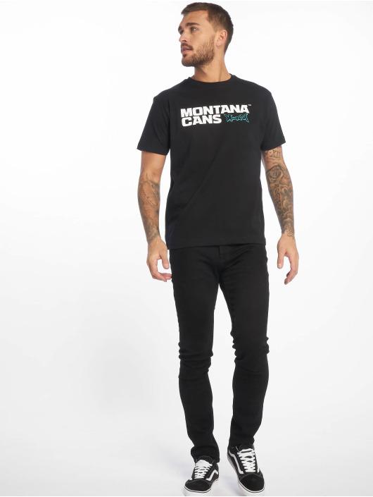 Montana T-Shirt  schwarz