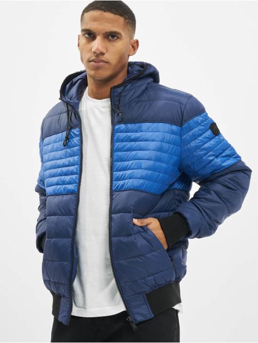 Moose Knuckles Стеганая куртка Terra Nova синий