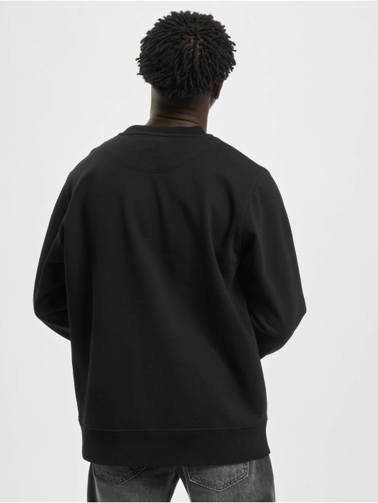 Moose Knuckles Camiseta de manga larga X-Mark negro