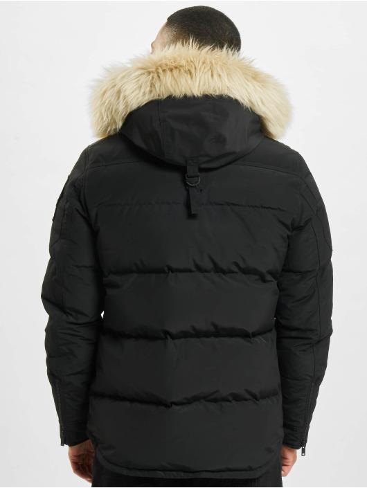 Moose Knuckles Chaqueta de invierno Mid Shrli negro