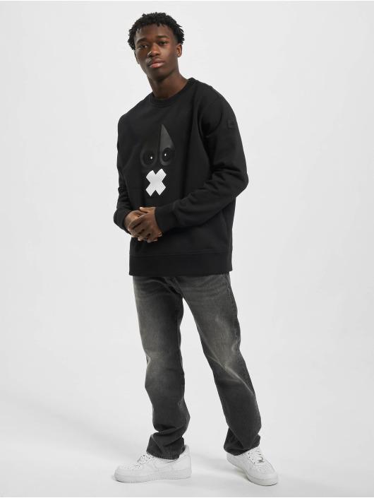 Moose Knuckles Longsleeve X-Mark zwart