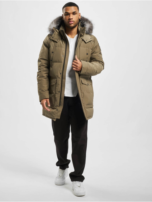 Moose Knuckles Parka Big Ridge braun