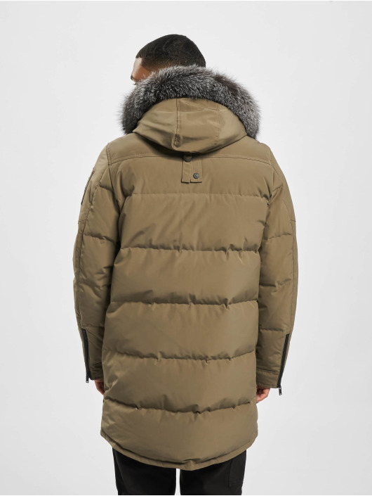 Moose Knuckles Parka Bunda Big Ridge hnědý