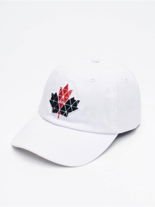 Moose Knuckles Snapback Caps Knuckles bialy