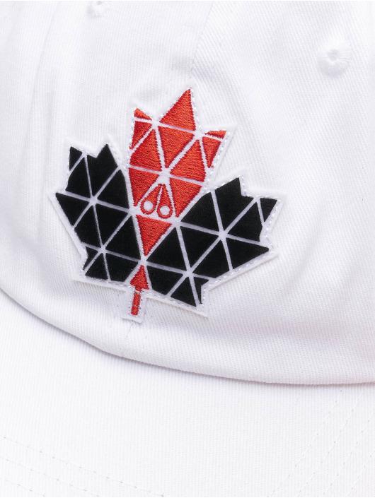Moose Knuckles Snapback Caps Knuckles hvid