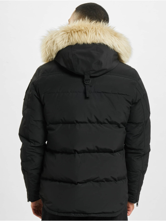 Moose Knuckles Zimné bundy Mid Shrli èierna